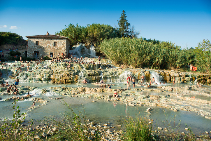 Free spas in Tuscany, Saturnia province of Grosseto ItalyFree spas in Tuscany, Saturnia province of Grosseto Italy