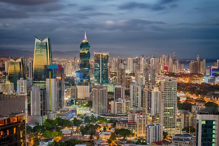 Financial center of Panama City, Panama