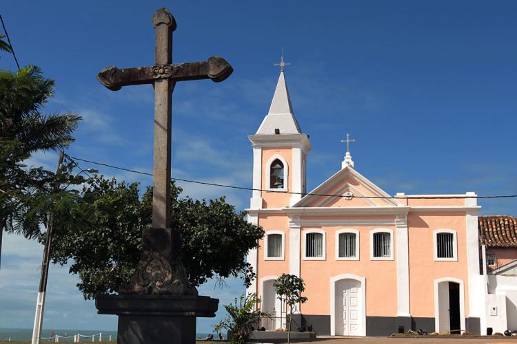 Igreja de Santana. Macaé/RJ - Data: 05/07/2013. Foto: Moisés Bruno / Prefeitura de Macaé.
