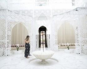 blogueira Karina Sell no Marrocos
