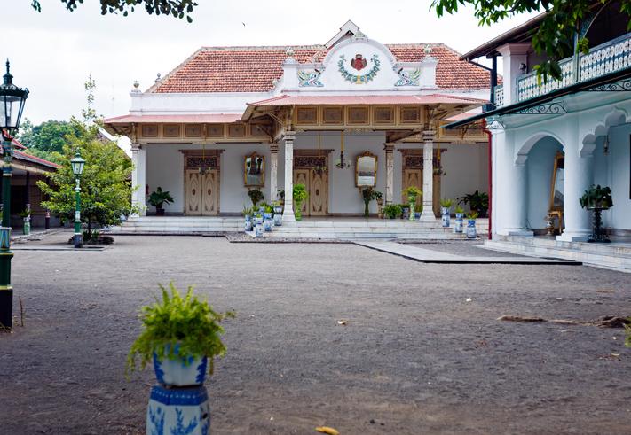 Sultan palace, Yogyakarta,  Java, Indonesia