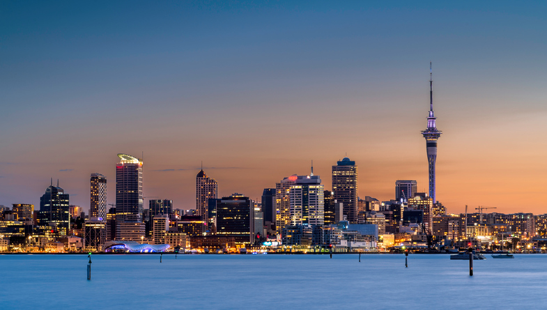 Auckland City in Summer