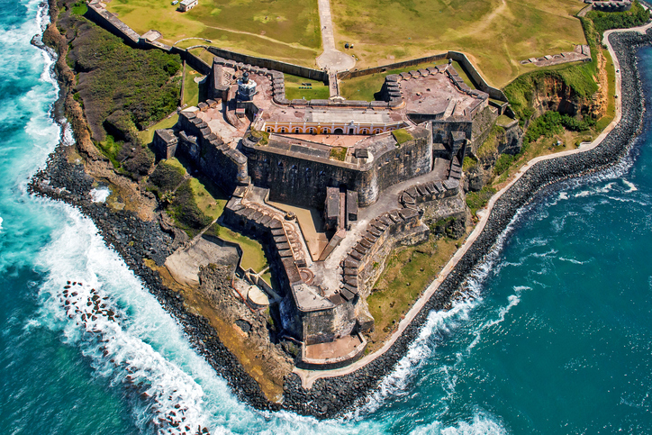 Castillo San Felipe del Morro also known as Fort San Felipe del Morro or El Morro Castle, is a 16th-century citadel located in San Juan, Puerto Rico.