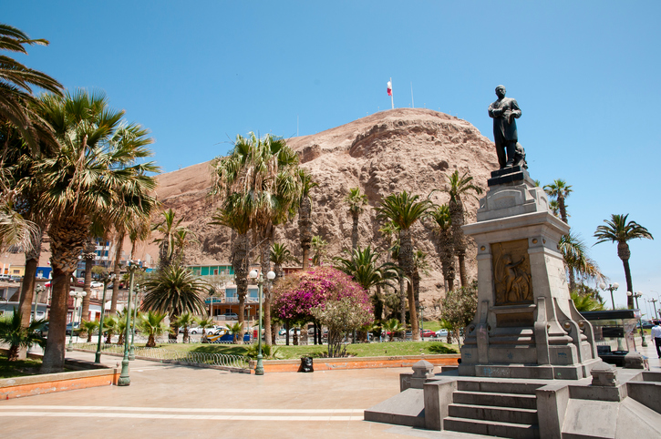 View of the morro of Arica