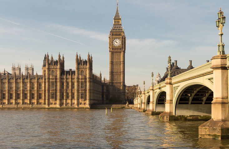 The Big Ben and Westminster bridge are the  most prominent symbols of the United Kingdom.