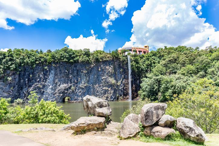 View of Tangua Park. CURITIBA, PARANA/BRAZIL