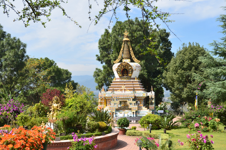 Nepal, Kathmandu, Kapan monastery