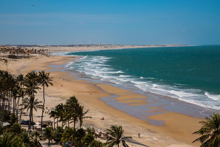 Beach Lagoinha, Paraipaba, Ceará, Brazil