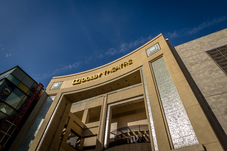 Los Angeles: Dolby Theatre on Hollywood Boulevard - Los Angeles, California, USA