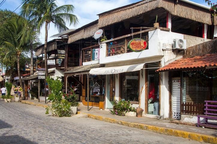 Porto de Galinhas - Ipojuca - Pernambuco, December 21, 2015. Porto de Galinhas is an important touristic destination in northeast Brazil. The city offers good hotels and restaurants.