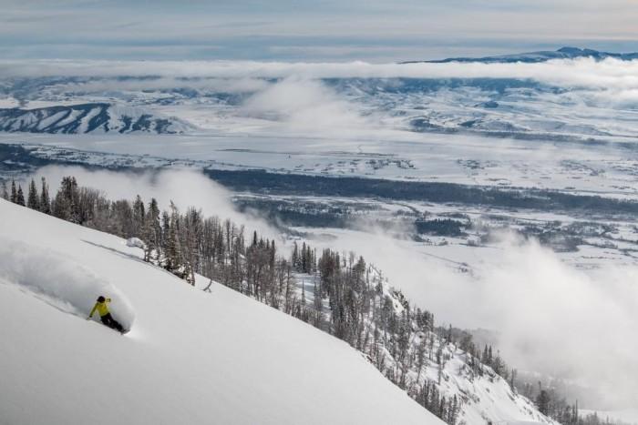 Foto por Divulgação / Jackson Hole Mountain Resort / Andrew Schrum