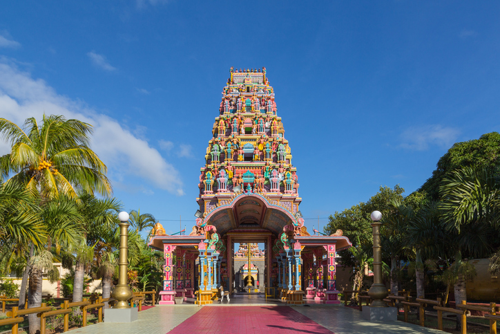 Kalaisson Temple Port Louis Mauritius.