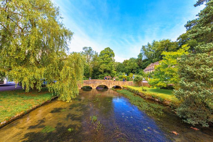 Bibury Village, Cotswolds, Gloucestershire, England, United Kingdom