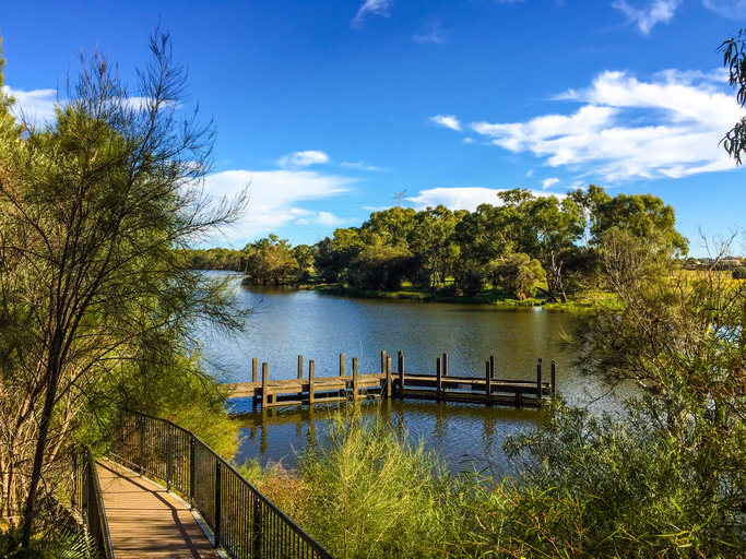 Jetty at the Swan Valley, Perth, Western Australia