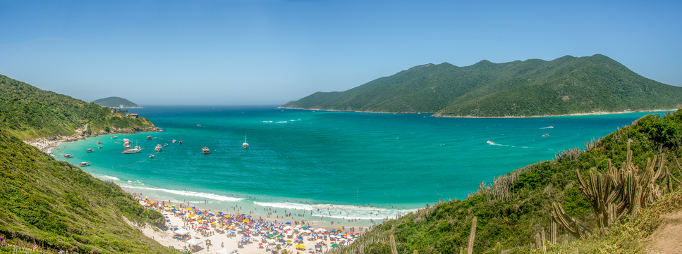 Brazil, Beach, Arraial do Cabo, Tropical Climate, Scenics