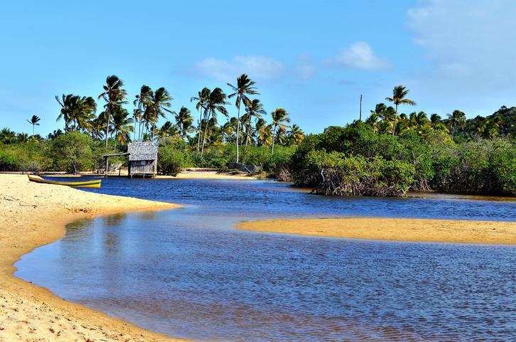 Nativos Beach in Trancoso, Porto Seguro, Bahia, Brazil