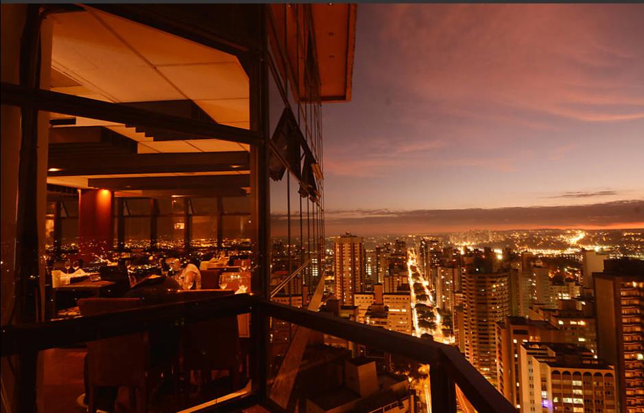 Curitiba Tem Restaurante Bar E Confeitaria Nas Alturas
