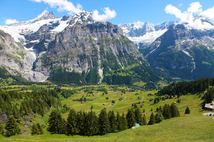 view of village First, Switzerland