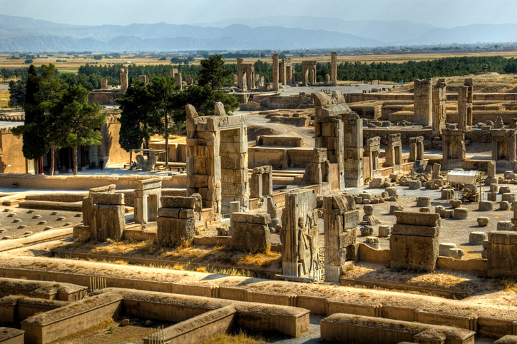 The 2500 years old capital of the Persian empire
