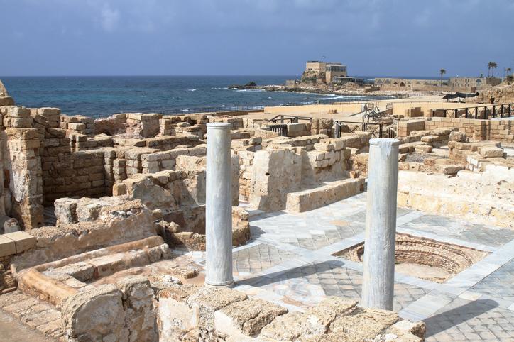 Roman Ruins - Caesarea - Israel
