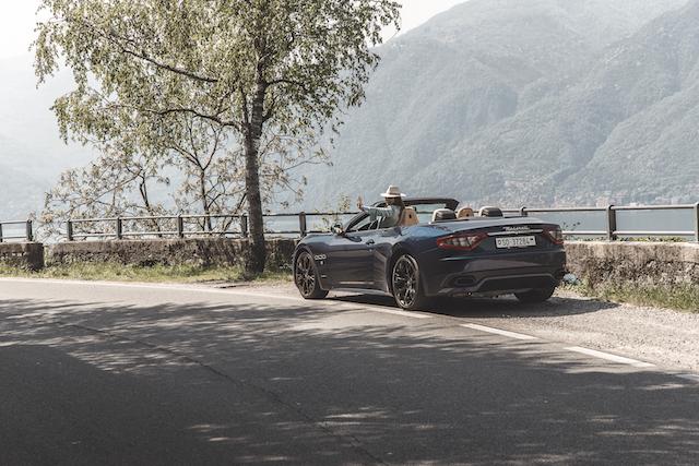 aluguel de carros de luxo na Itália e Suíça