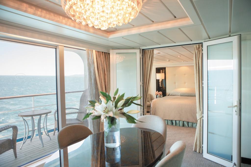 Seven Seas Mariner - Foto via Divulgação/ Regent Seven Seas Cruises
