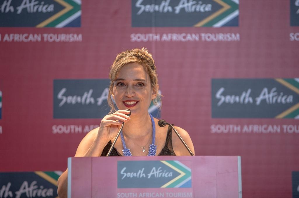 Tati Isler, representante do Turismo da África do Sul. Crédito: South Africa Tourism