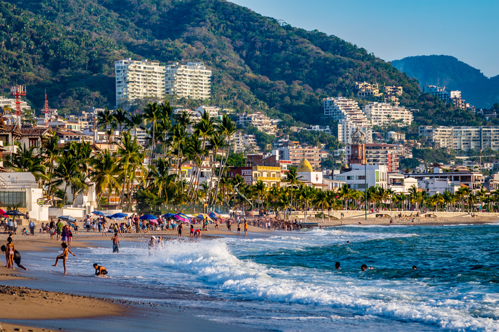 Wonderful view of Puerto Vallarta