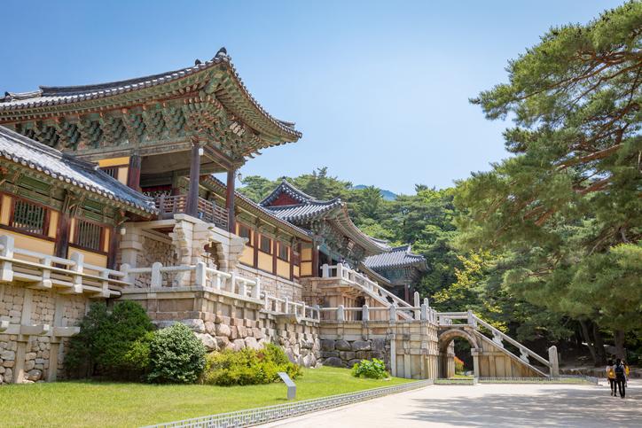 Jun 23, 2017 Bulguksa temple in Gyeongju, South Korea