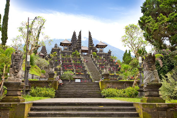 Agung Besakih complex temple on Bali, Indonesia