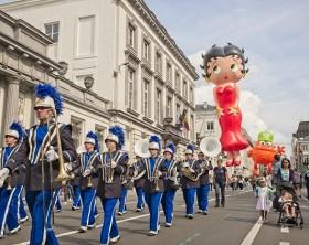 Fête de la BD - Stripfeest - Comic Book Festival Balloon's Day Parade © Visit Brussels - Jean-Paul Remy - 2017