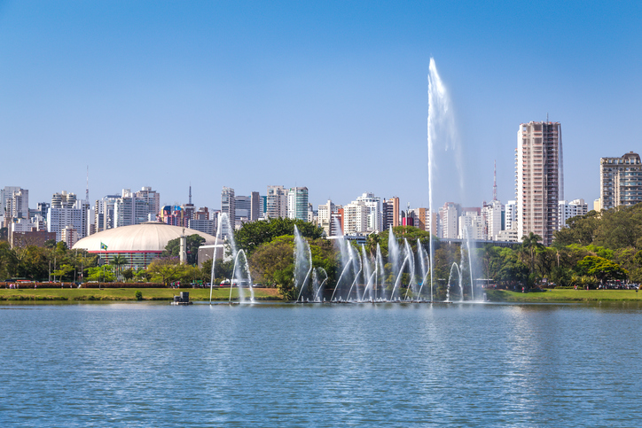 The Ibirapuera is one of Latin America largest city parks.