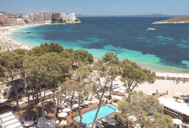 beach clubs em Maiorca