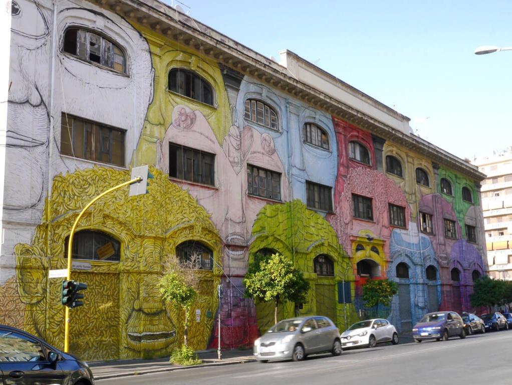 Programas diferentes em Roma: o bairro Ostiense