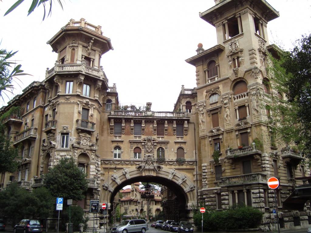 Programas diferentes em Roma: o bairro Coppede