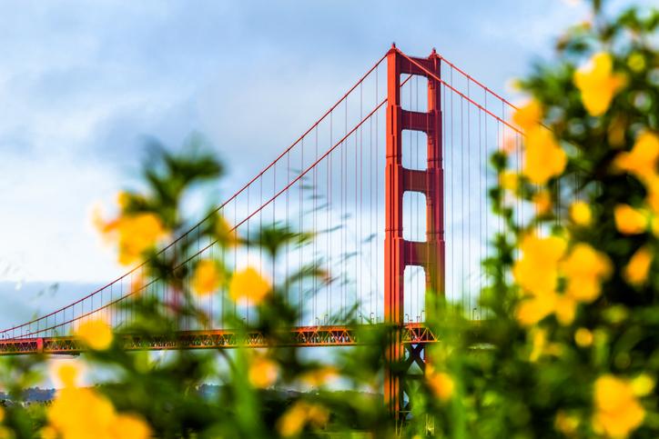 Famous California landmark