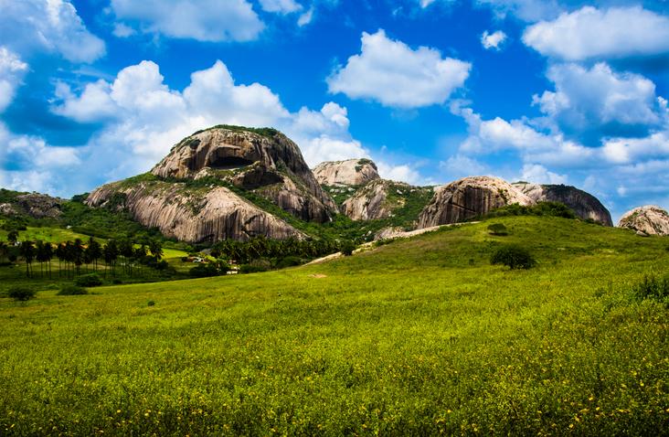 Pedra da Boca, em Araruna, PB, Parque estadual, Vista Panorâmica