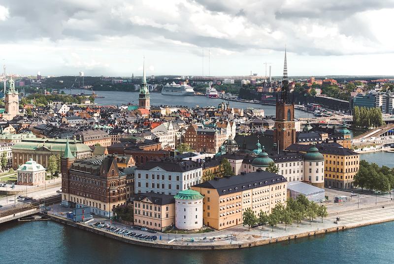 Estocolmo na Suécia