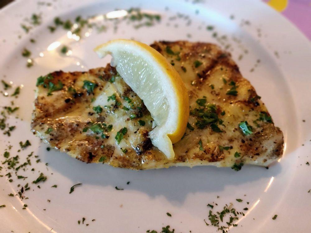 O peixe super fresco do Seafood Seller