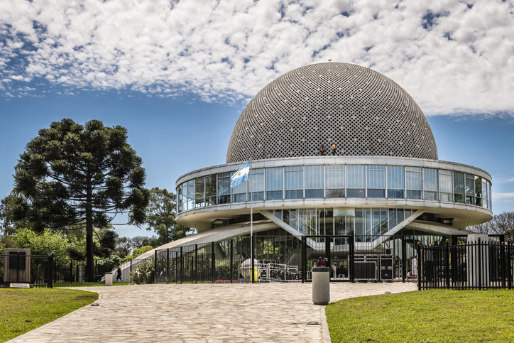 """Planetario Galileo Galilei"" is the planetarium in Buenos Aires - Argentina"