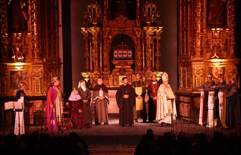 Teatro a céu aberto na Espanha , El Cronicón de Oña