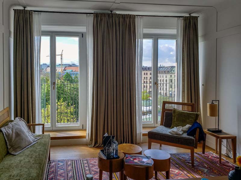 Louis Hotel em Munique. Foto: Adriana Lage