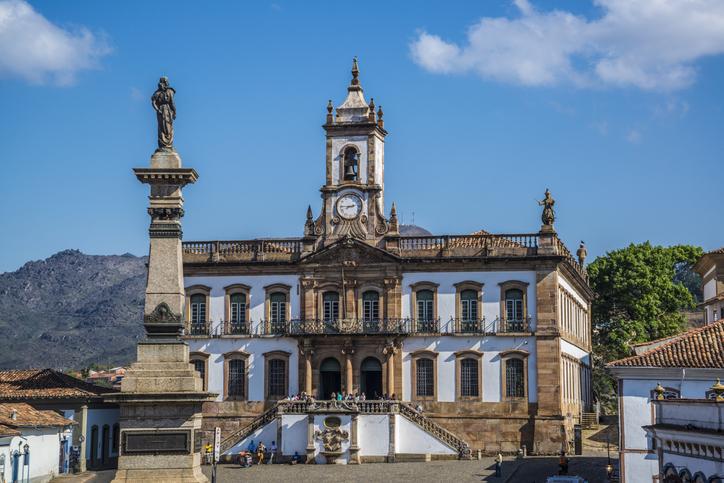 Ouro Preto, Minas Gerais, Brazil - September 2, 2015: Museum of Betrayal, Museu da Inconfidência