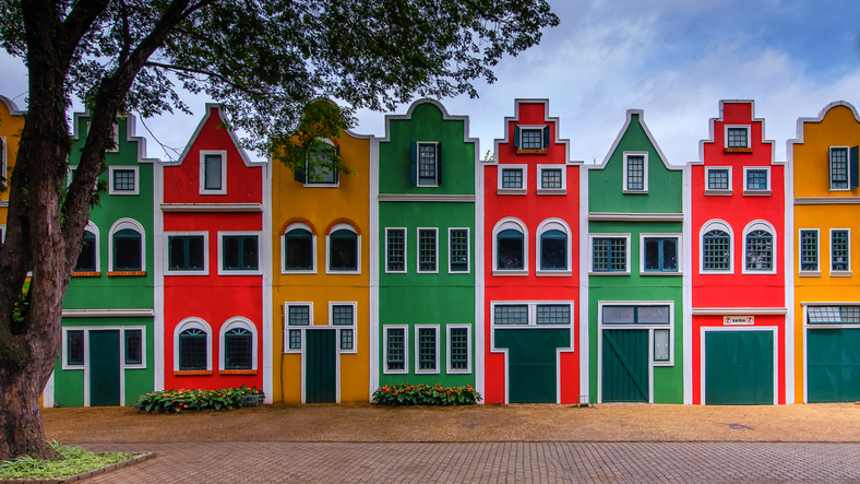 Beautiful houses from Holanbra/Brasil