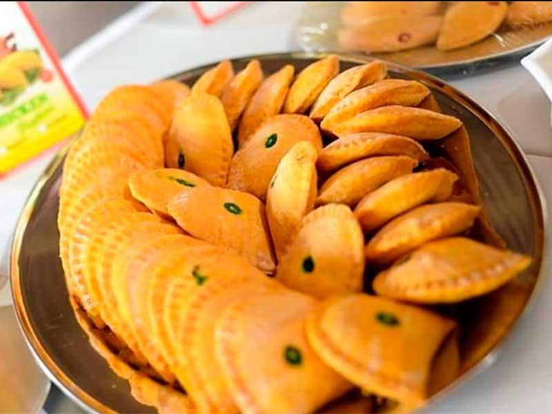 As tradicionais Patties da Juici's. Foto Juici's
