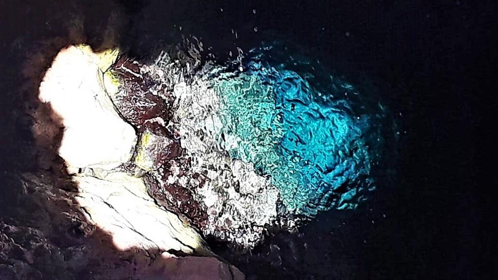 Olho Azul. Foto por Cláudio Lacerda Oliva.