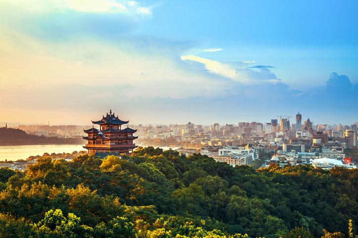 China Hangzhou City Scenery