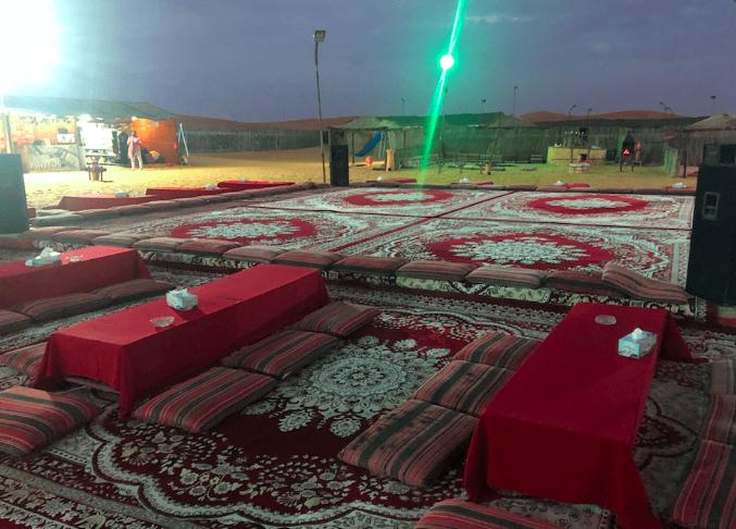 jantar no deserto
