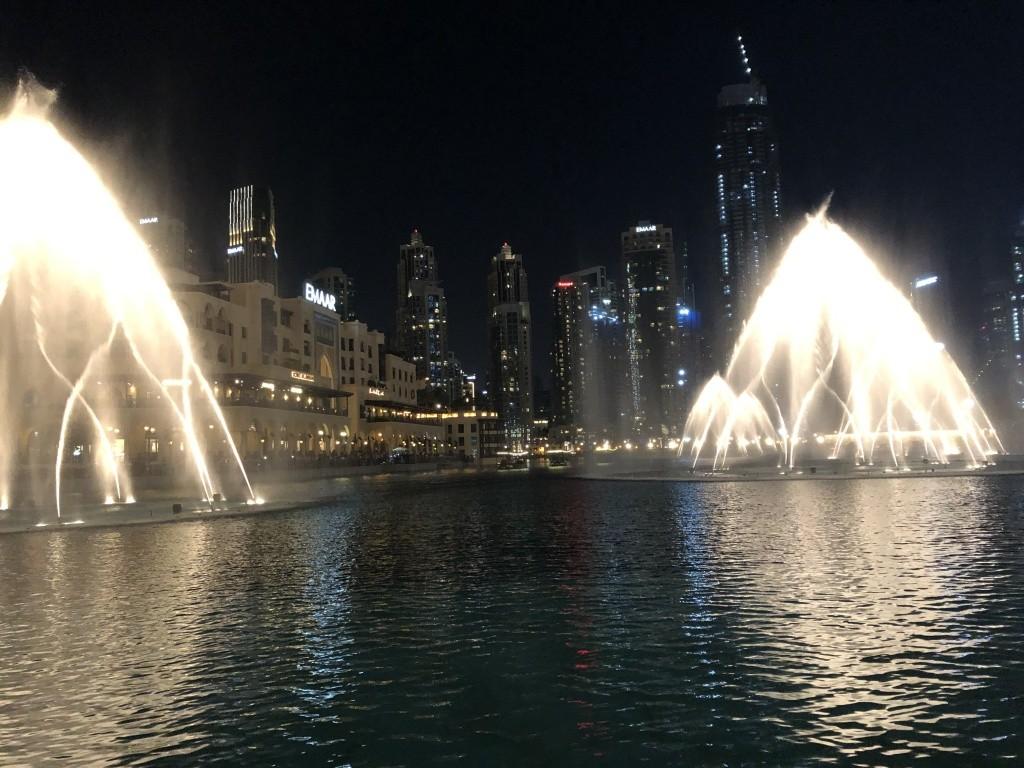 Fontes de Dubai