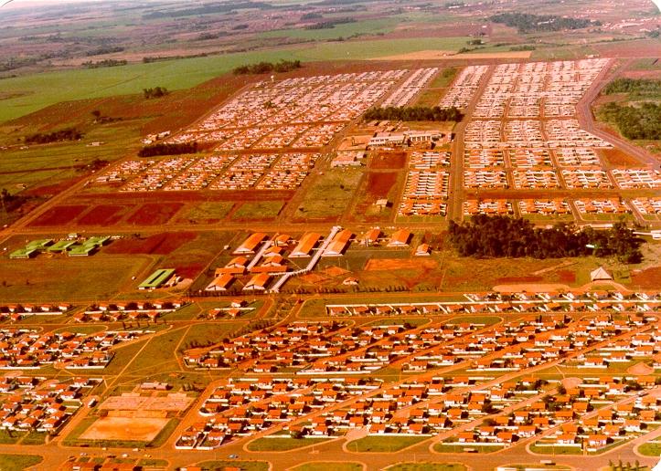 Itaipu vilas antigas